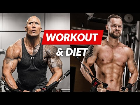The Rock Workout & Diet Challenge   The Rock Daily Routine, Hercules diet and training