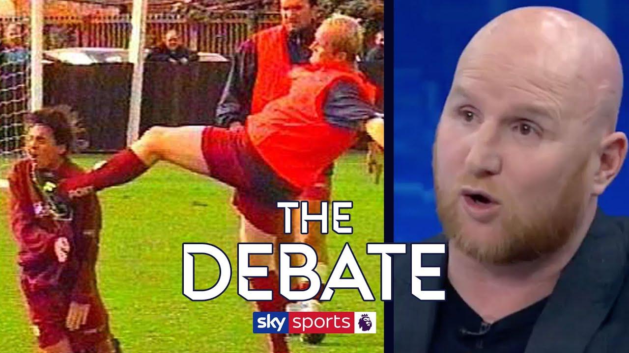 John Hartson on kicking Eyal Berkovic in training! | The Debate