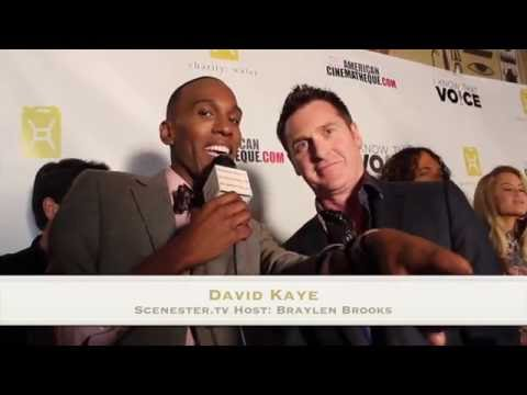 DAVID KAYE Voice Behind TRANSFORMERS & More s at I Know That Voice movie premiere