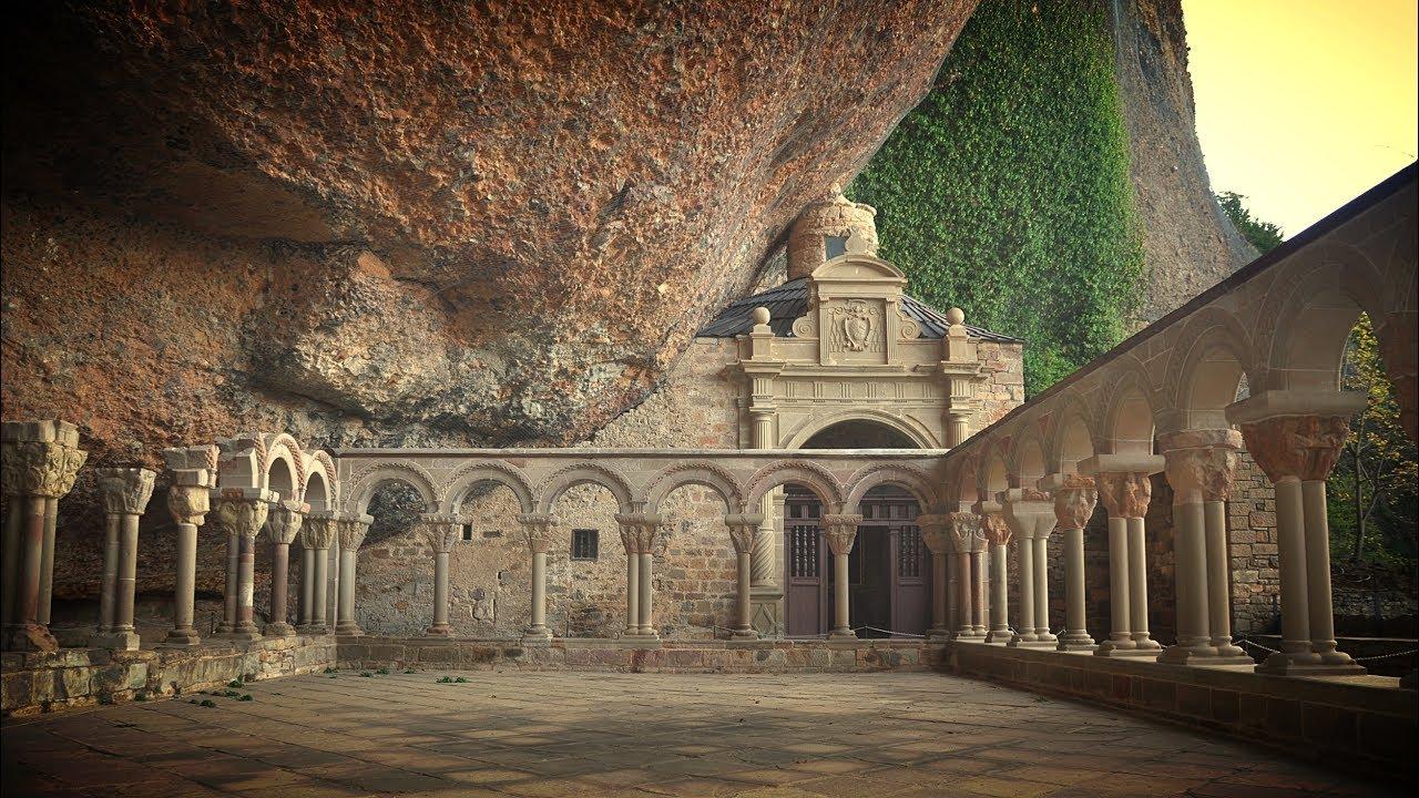 Historia de Aragón - El Monasterio de San Juan de la Peña - YouTube