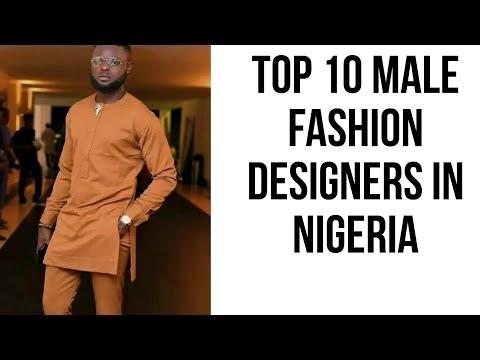 Top 10 male fashion designers in Nigeria 2019