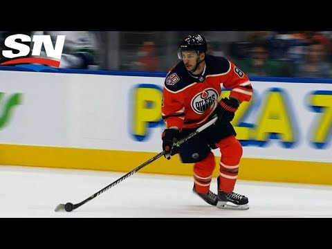 Ty Rattie Scores The Hattie For Oilers In Pre-season Against Canucks
