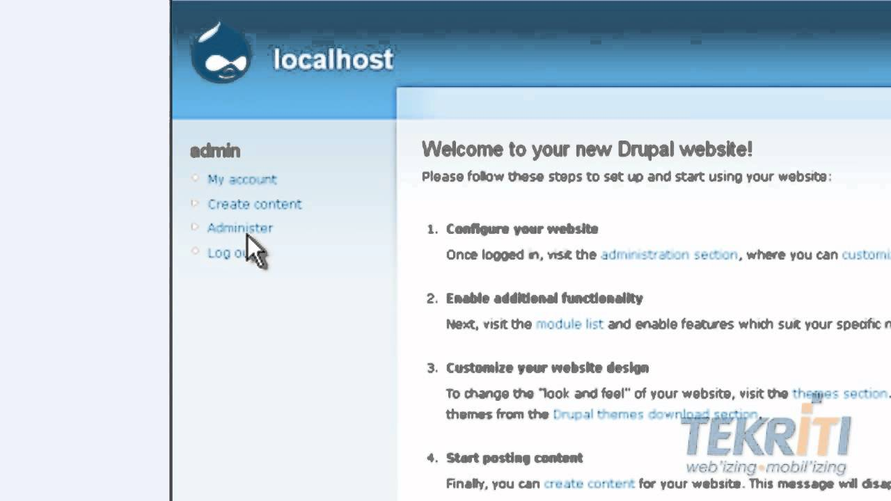 how to send an auto generated thank you mail on a drupal website