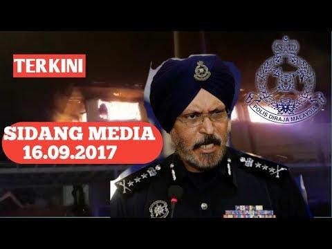 Dalang Membakar Pusat Tahfiz ditangkap | Sidang media Ketua Polis Kuala Lumpur 16.09.2017