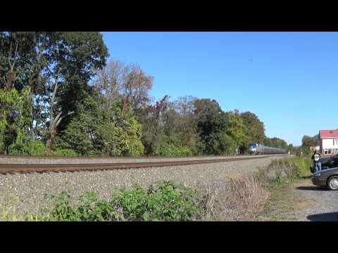 Amtrak Pennsylvanian Train 43 Through Cove PA