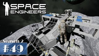 Space Engineers #49 - Kleinere Umbauten schaffen Platz [Let's Play Gameplay German Deutsch]