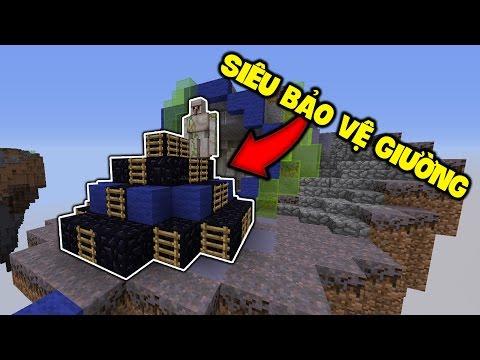 KHÔNG THẾ PHÁ VỠ CÁI GIƯỜNG NÀY   Minecraft BED WARS