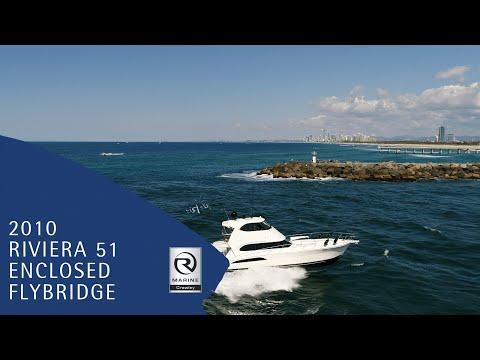 2010 Riviera 51 Enclosed Flybridge