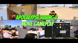 Roblox Apocalypse Rising 2 Gameplay #2 (AR2 More Gameplay)