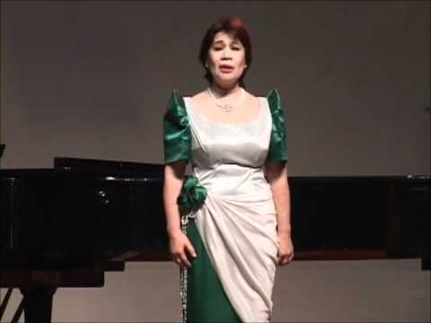 "Cherie M. Cunanan - ""Sa Mahal Kong Bayan"" by Lucio San Pedro"