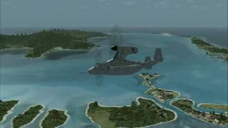 REX fsx tahiti osprey
