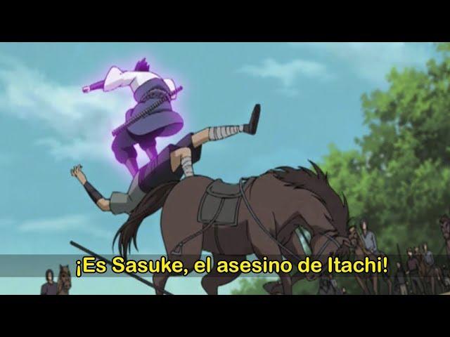 El viaje SECRETO de SASUKE UCHIHA antes de unirse a AKATSUKI