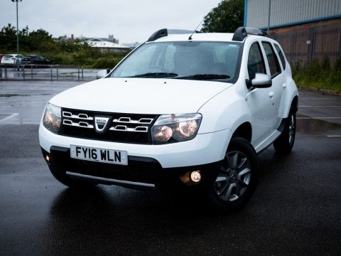 2016 16 dacia duster 1 5 dci 110 laureate 5dr in white inc bluetooth demo youtube. Black Bedroom Furniture Sets. Home Design Ideas