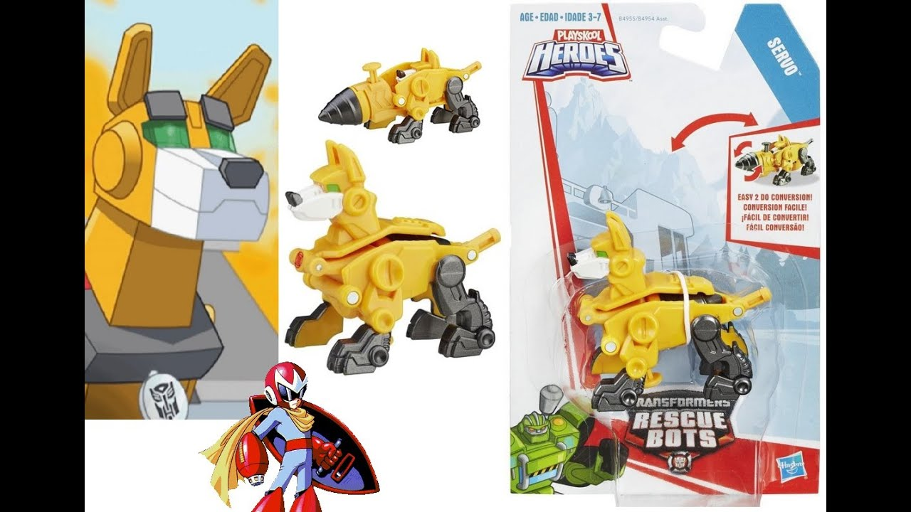 Protoman Review: Transformers Rescue Bots Servo The Dog