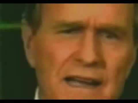 George Bush Sr 1991 New World Order Speech : NWO