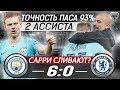 ЗИНЧЕНКО порвал оборону ЧЕЛСИ • Манчестер Сити Челси 6 0 обзор матча