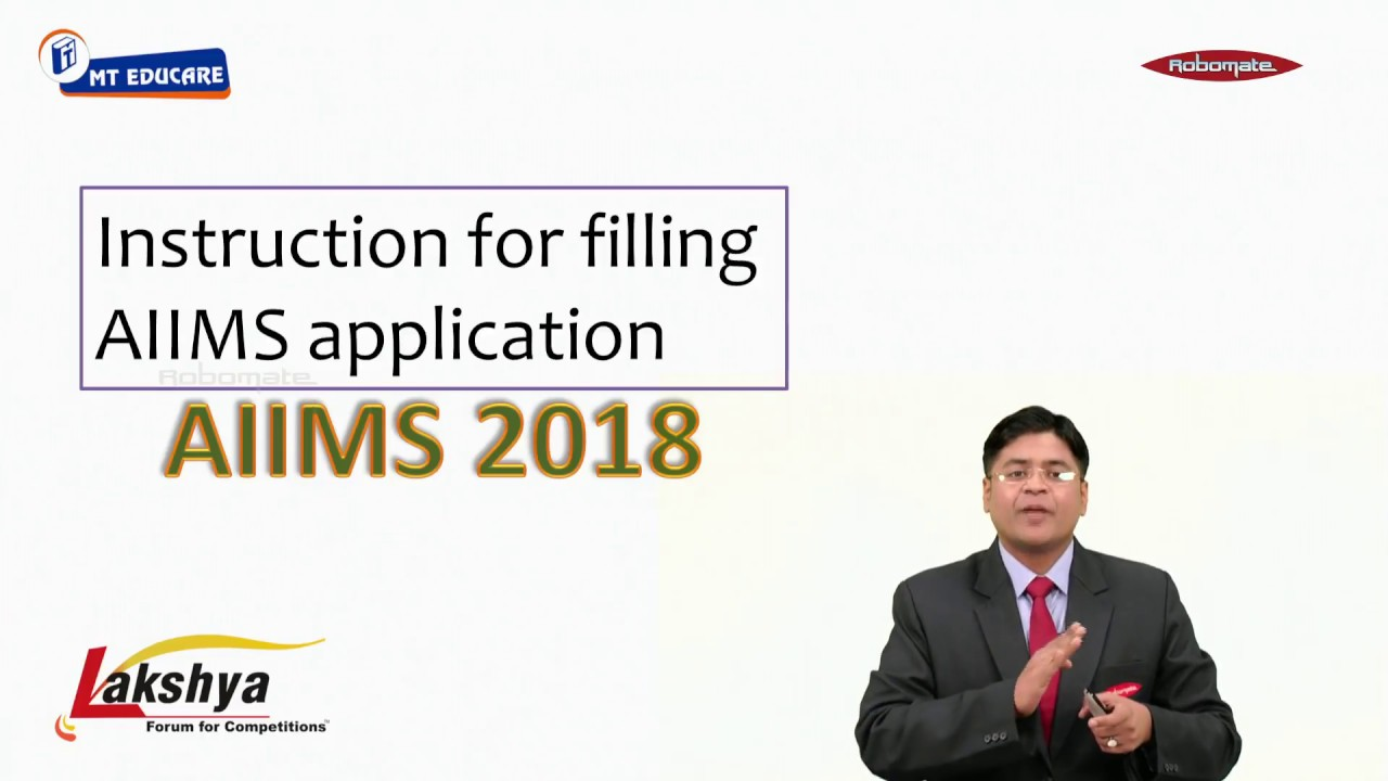 Aiims Application Form Doents on