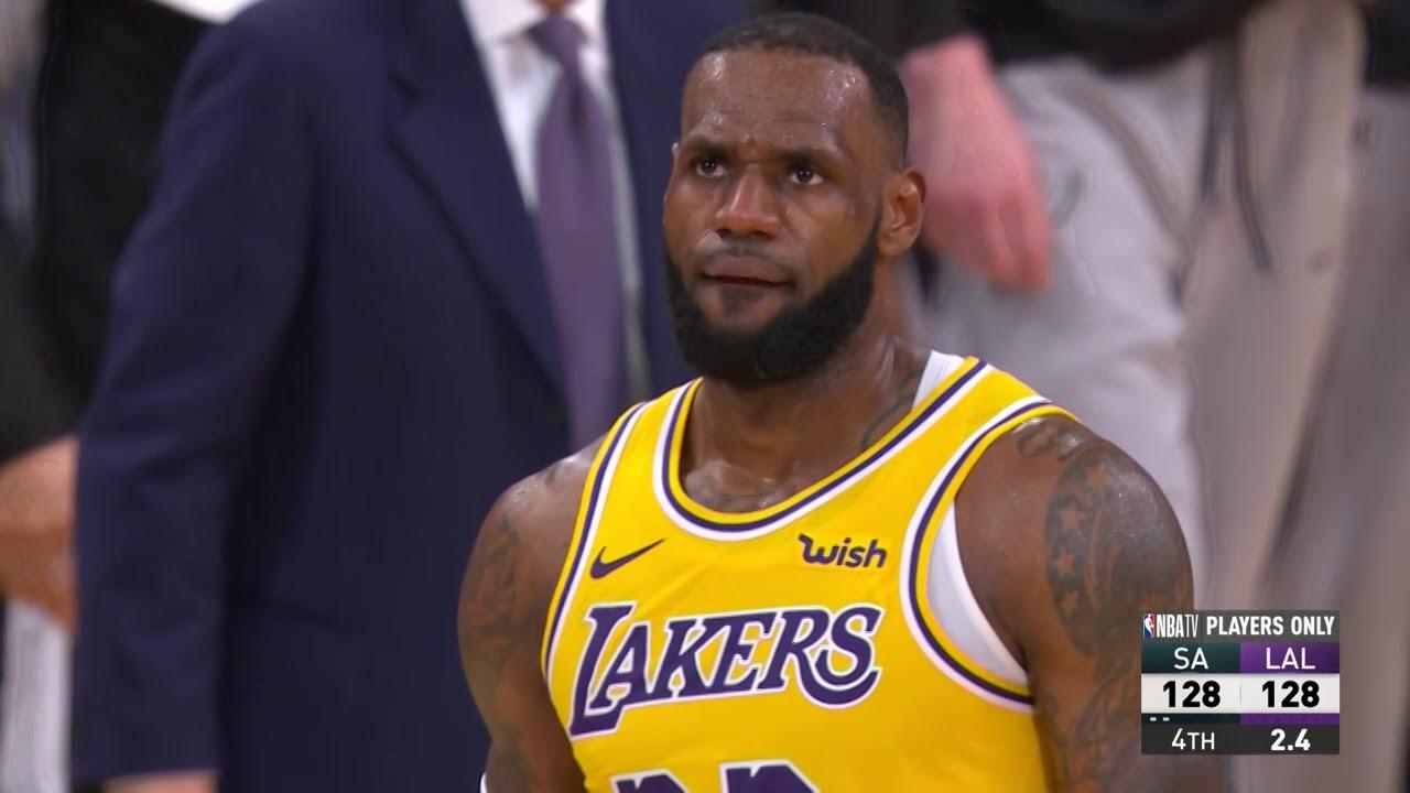 134223a6bec San Antonio Spurs vs Los Angeles Lakers