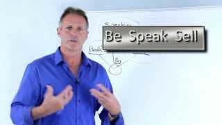 How to speak to groups for a profit. Be Speak Sell.
