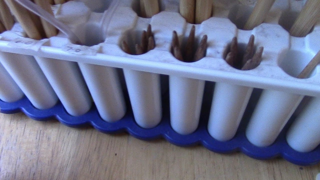Knitting Needle Storage Ideas : Knitting needle storage ideas youtube