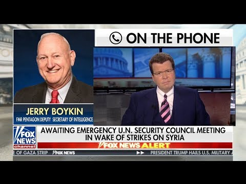 Jerry Boykin on Russia's Response to the US Airstrike in Syria