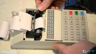 Замена чековой ленты на кассовом аппарате Меркурий 115К(Вопросы можете задавать в комментариях к этому видео или в группе в ВК: https://vk.com/portkkm Наш сайт: https://portkkm.ru/, 2015-12-17T01:06:04.000Z)