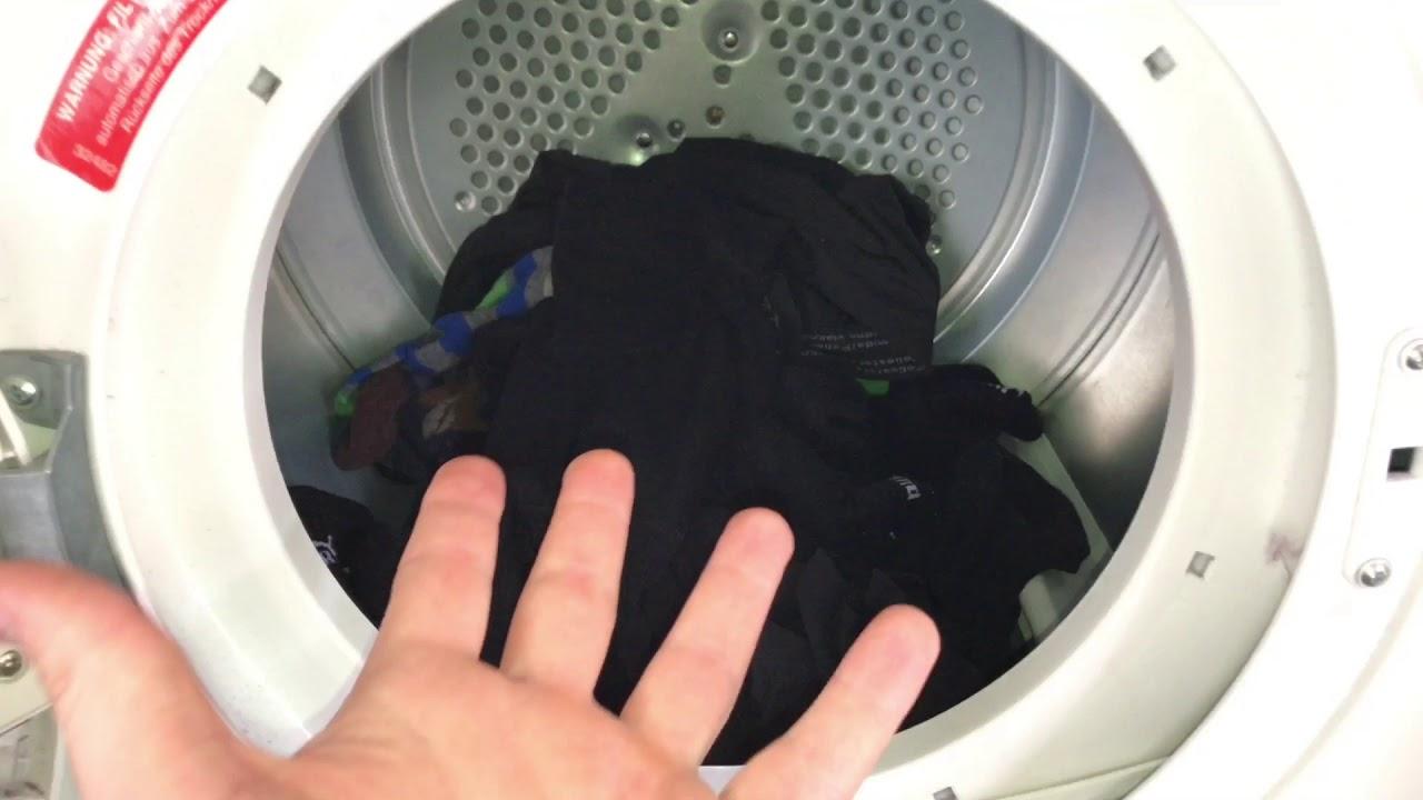 Socken trocknen im trockner benutzen baumwolle stoffe wäsche