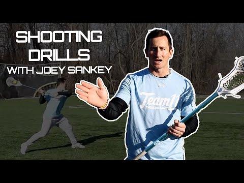 Lacrosse Shooting Drills with Joey Sankey
