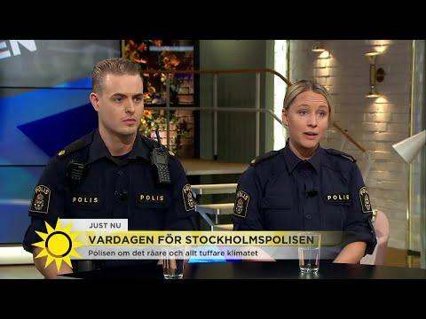 """Polisen om det allt tuffare klimatet: """"Vi vill använda så lite våld som möjligt"""" - Nyhetsmorgon (TV4"""