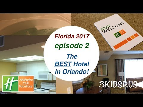 Florida 2017 ep.2 - The Best Hotel Near Disney World! ⭐️ ⭐️ ⭐️ ⭐️ ⭐️