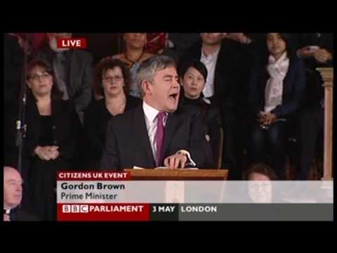 Gordon Brown's speech to Citizens UK