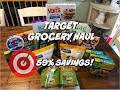 TARGET GROCERY HAUL 11/12/18   I SAVED OVER $32 ON HEALTHY GROCERIES!!!
