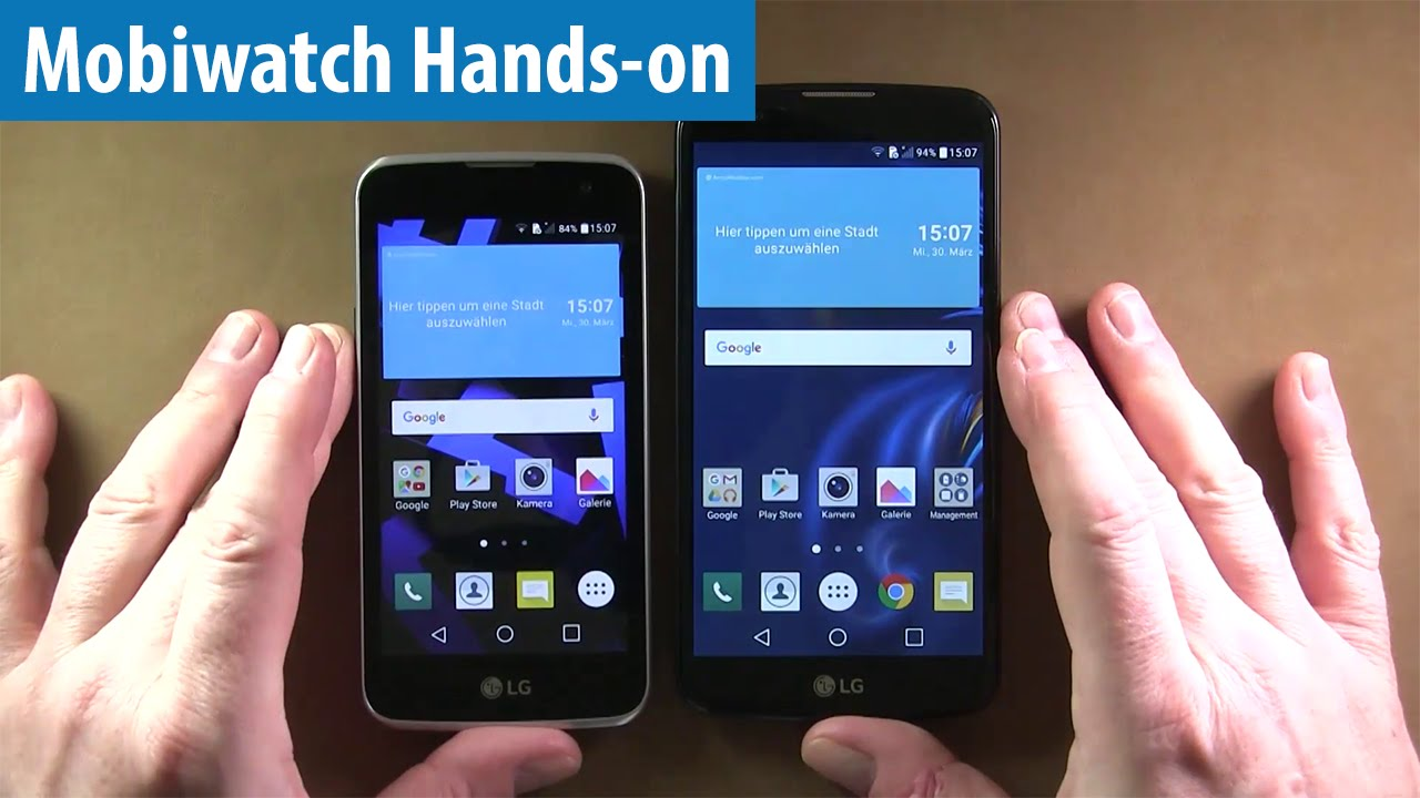 lg k4 how to use