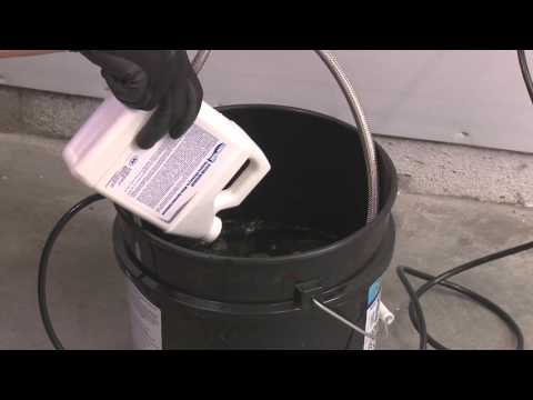 How to descale, flush or clean a Noritz tankless water heater, tankless water heater maintenance