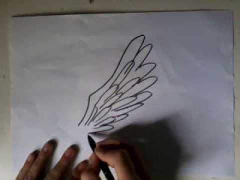 Apprendre a dessiner les ailes d 39 ange youtube - Comment dessiner le drapeau d angleterre ...