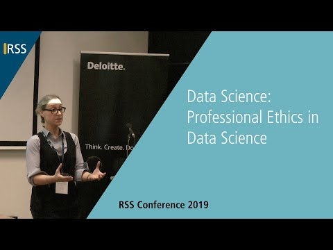 Data Science: Professional Ethics in Data Science