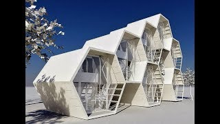 Modern Space Saving Tiny Houses - Most Amazing Home Design Ideas !