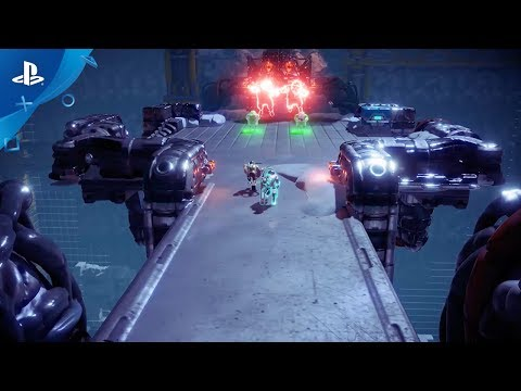 Nex Machina - Behind the Scenes: Fluid System and Tech | PS4