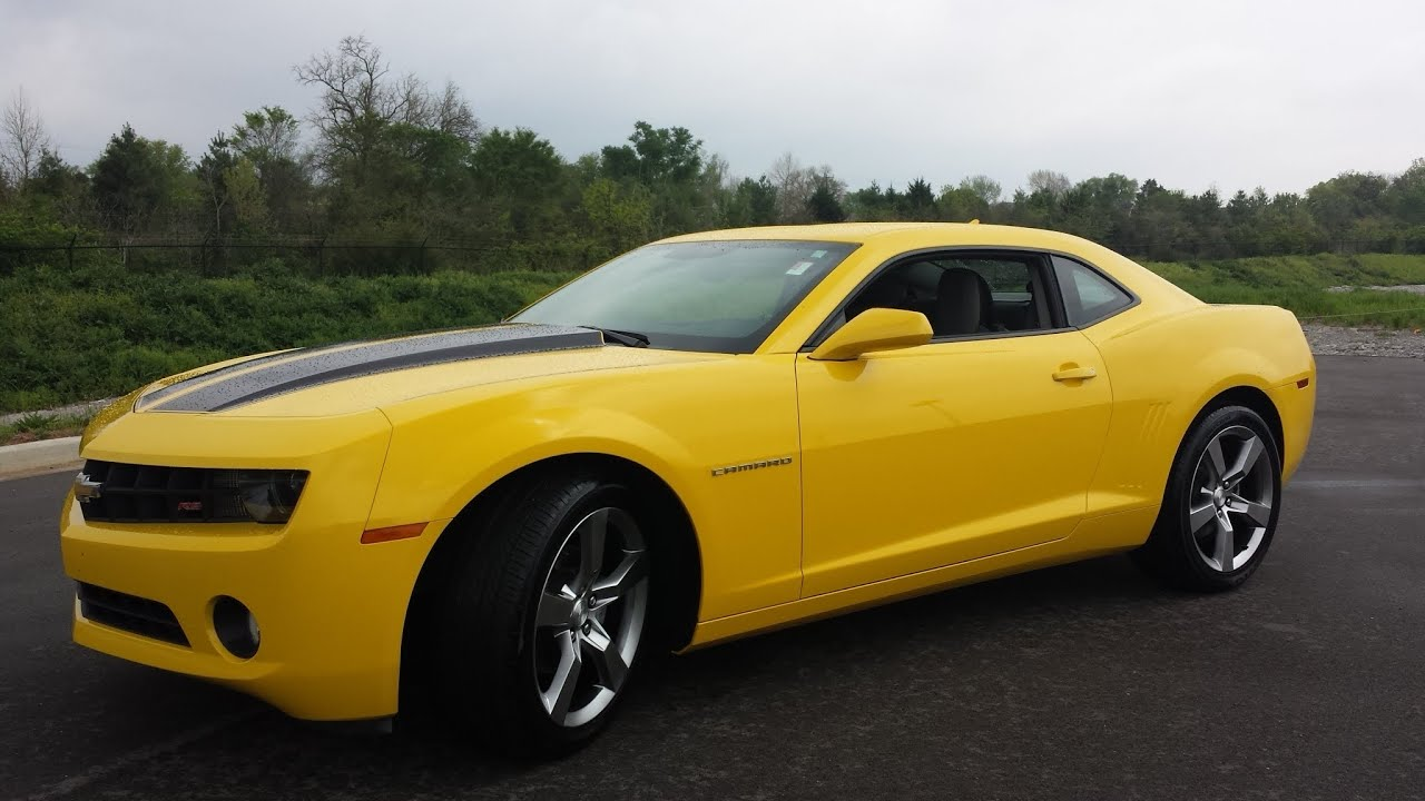 Sold 2012 Chevrolet Camaro 2lt Rs Ralley Yellow 29k Gm