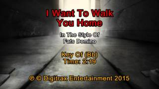 Fats Domino - I Want To Walk You Home (Backing Track)