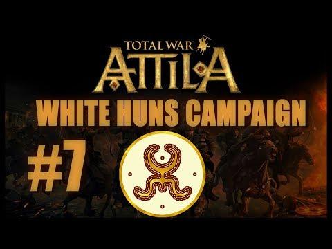 Total War: Attila - White Huns Campaign #7