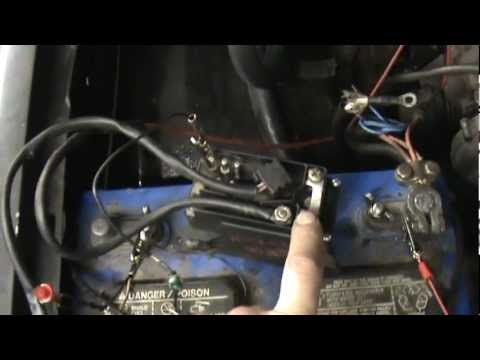 mercedes 300d glow plug relay operation