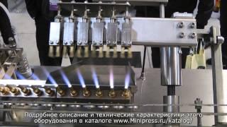 Фармацевтическое оборудование для запайки стеклянных ампул www.MiniPress.ru(www.Minipress.ru Наша компания занимается поставкой фармацевтического оборудования из Китая, Кореи, Индии, Европы..., 2013-06-09T18:42:10.000Z)