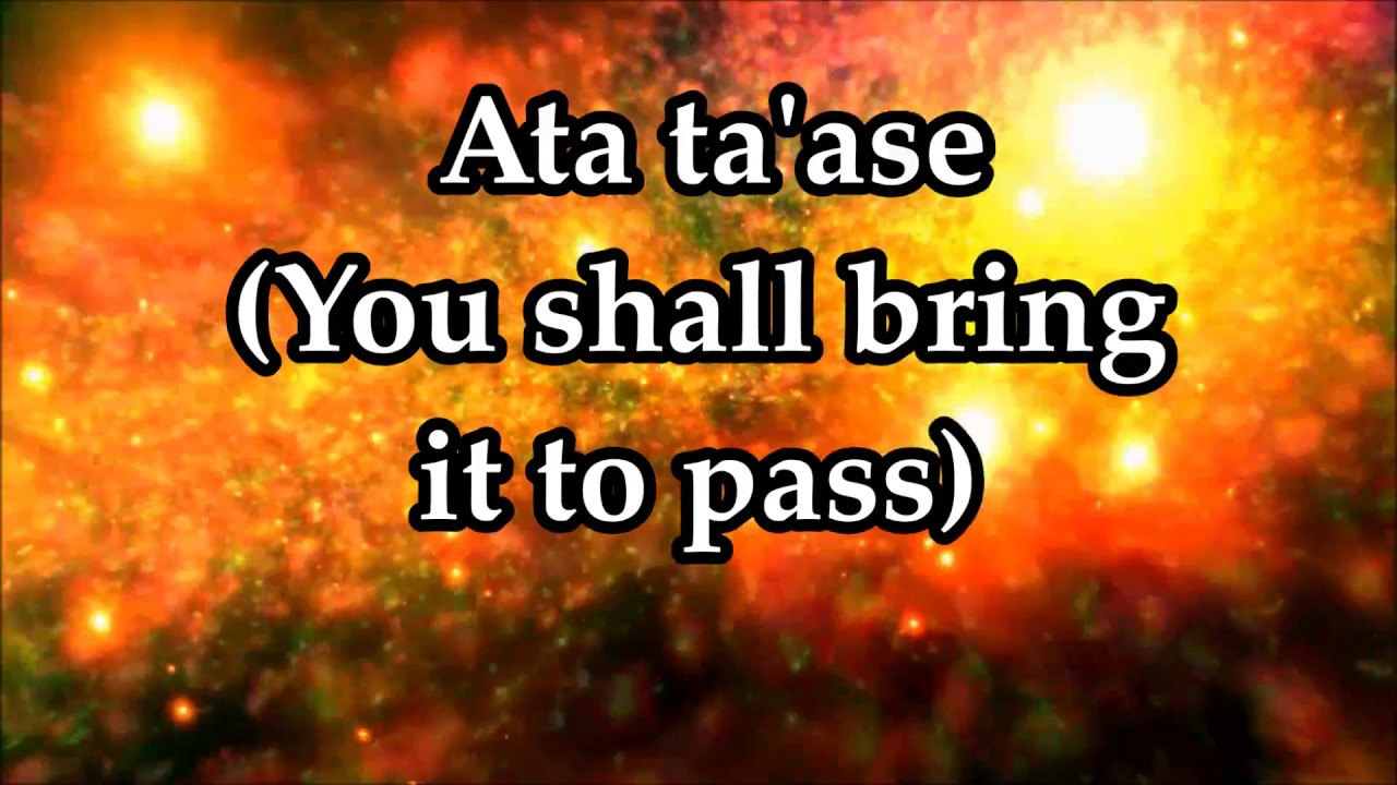 Keren Silver - Ata Ta'ase (You Shall Bring It to Pass) - Lyrics and Translation
