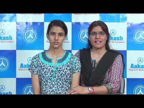 Aakash 2016 Top Ranker Ira Pachori in AIIMS (AIR-11) & JIPMER (AIR-43)