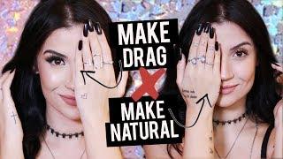 MAKE DRAG X MAKE NATURAL