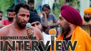 INTERVIEW WITH BHUPINDER PEHALWAN BY SUKHVIR CHOHAN VIDEO BY WWW.MALWATV.COM