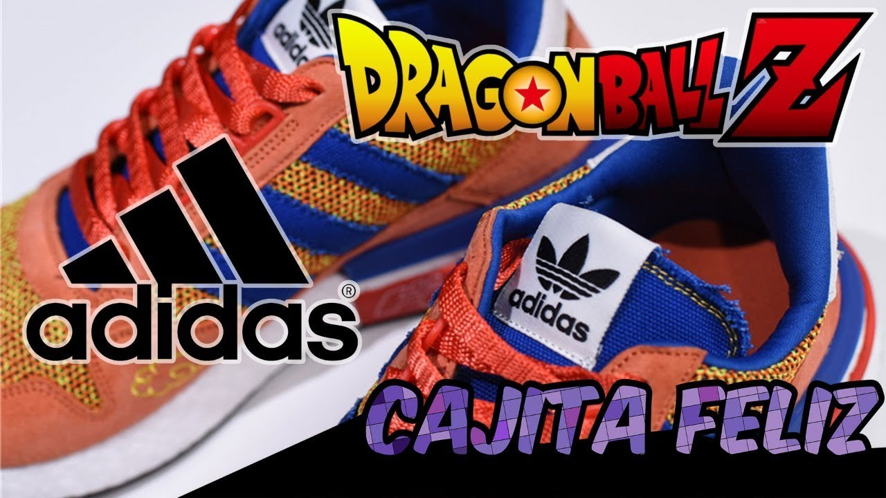check out 0ab40 ec5ee Unboxing de tenis Dragon Ball Z Adidas Originals ZX 500 RM de Goku