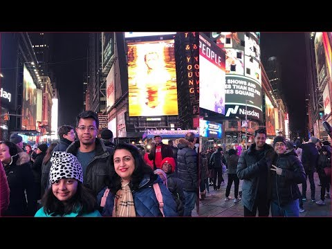New Year 2019 Celebration In New York  With Brother (Vlog) | Simple Living Wise Thinking