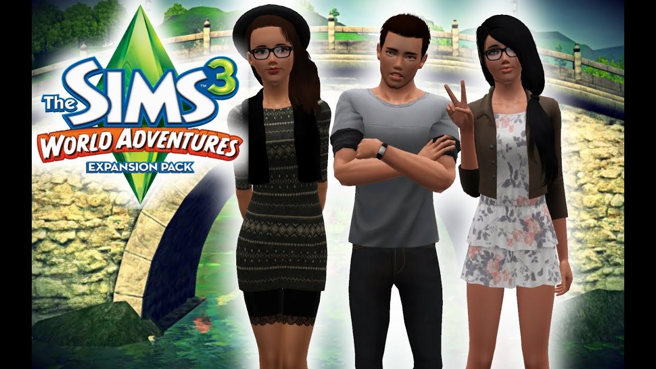 let 39 s play the sims 3 world adventures part 1 create a sim youtube